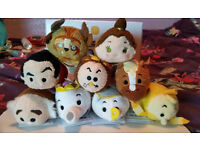Disney Store Tsum Tsum Beauty and the Beast