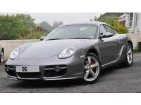 Porsche Cayman S 3.4 987 Manual Only 27300 Miles FPSH 1 Prev Owner Immac Cond