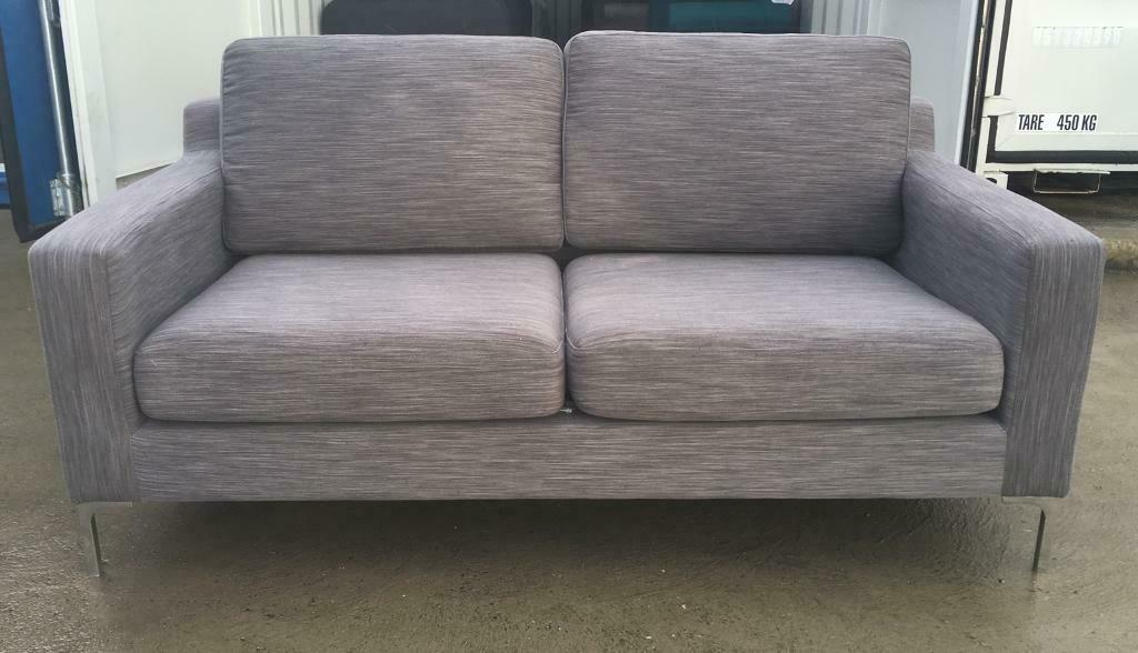 Terrific Wayfair Wu Grey 2 Seater Fabric Sofa Ex Display In Lincoln Lincolnshire Gumtree Evergreenethics Interior Chair Design Evergreenethicsorg