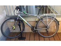 Men's Bicycle - Pinnacle Neon One 2015 Hybrid Bike Size L with Gear