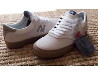 New Balance Numeric 255 Shoes Off White - Size 9.5