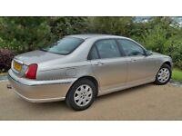 Rover 75 Connoisseur 1.8 petrol - 2001 Y reg