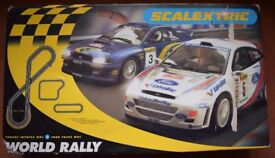 "Vintage ""Rally"" Scalextric"