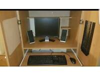 Dell computer with hidden desktop