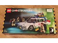 Brand new sealed Lego Ghosbusters Ecto-1 car. Tear in box.