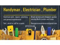 General house repairs , electrician , plumber , fast cheap and reliable and 24 emergency call out