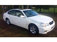 WHITE (RARE) LEXUS GS300 SE 3.0 AUTO 220 BHP MOT 05.17 15 YEARS OWNED MINT CONDITION & DRIVE