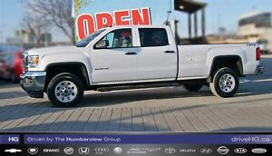 2015 GMC SIERRA 2500HD WT|8FT BOX|LOW KM|4X4|