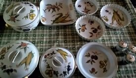 Royal Worcester Evesham Collection 11 pieces
