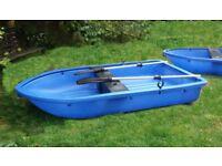 for Sale Fun Yak Family Boat Fishing Tender No Maintenance Rowing VGC