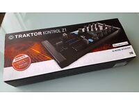 Native Instruments Traktor Kontrol Z1 DJ Mixing Interface - BOXED NEW