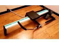 'Tunturi' Twin Hydraulic Piston Rowing Machine