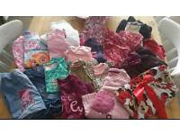 Large bundle of girls clothes age 4 to 5