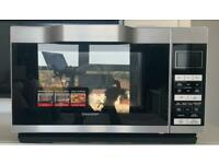 Sharp 900W Combination Flatbed Microwave R861 - Silver