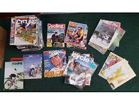 Collection Of Cycling Magazines approx 73 Copies In Total Cycling Plus Etc