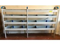 Van Racking / Shelving - SORTIMO - Ford Transit - Good Condition - Suitable For Medium To Big Van