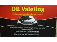 Car valet professional mobile service exceptional competitive price with high standard results