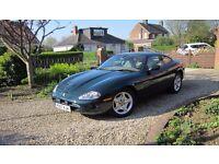 Jaguar XK8 Coupe, Registered Dec 1997, BRG, Classic Oatmeal leather trim. Very good spec