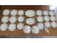 Johnson Brothers Pareek Vintage Dinner Set VGC