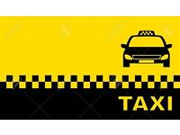 WANTED TAXI NOTTINGHAM CITY PLATED