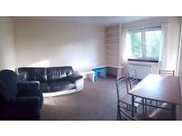 Bright, quiet and spacious 1 bed flat with balcony near Glasgow University