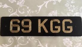 Personnal private registration 69 KGG
