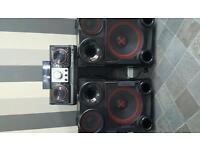 LG Mini hifi 2300 watt
