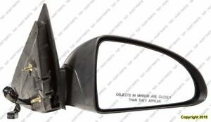 Door Mirror Power Passenger Side Base-Ls Models Chevrolet Malibu Maxx 2004-2007