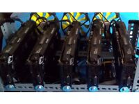 Zcash ZEC Ethereum ETH Mining rig 5 x Nvidia GTX 1080 Ti 55GB total NEW for sale central London