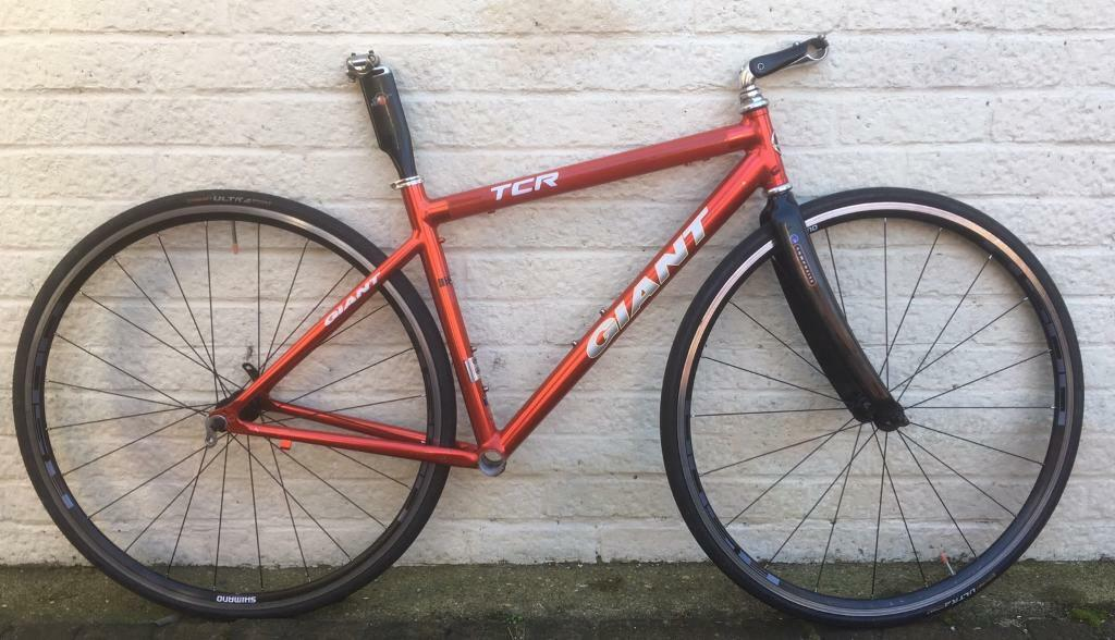 1998 Giant 1st Generation TCR Frameset, stem and Mike Burrows Seatpost | in  Shefford, Bedfordshire | Gumtree
