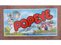 Popeye board game, complete (1983 vintage)