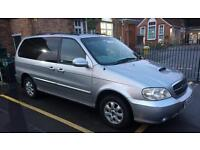 2004 Kia Sedona 7 seater new MOT