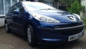 Peugeot 207, 3 door Urban. 7 months MOT