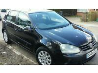 VW GOLF MK5 TDI 1 PREV OWNER 97K FSH