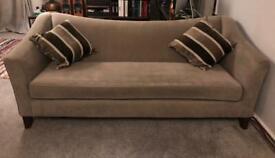 John Lewis Lucca Grande Sofa in Mocha