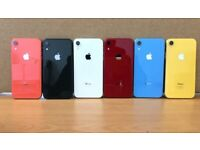 APPLE IPHONE XR UNLOCKED ALL COLOURS FROM