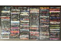250 DVD's My full collection of top titles for Sale plus 25 top box sets