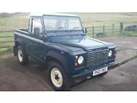 Land rover defender 90 Td5 Galvanised chassis 2002