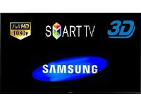 Samsung UE40F6800 40 Inch 3D Smart LED TV, 2+ years Warrant