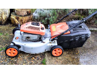 Petrol LAWNMOWER Flymo Quicksilver SD46 rotary self-drive SPARE or REPAIR