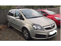 Automatic Vauxhall zafira 2.2 low mileage for age, lots of work done