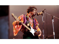 Jimi Hendrix cover band looking for bassist /lead singer
