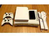 Microsoft Xbox 360 Core, Nintendo Wii and DS Lite