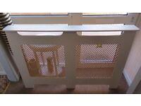 Handmade radiator cover