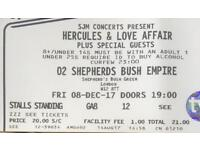 Hercules & Love Affair 2 Tickets