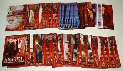 62 card lot ANGEL SEASON 5 BTVS scan Harmony Eve Spike Lorne Fred Gunn