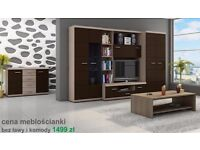 Wall Unit Nevada Cabinets Shelves Wardrobes Tv Units Free Delivery Cash On Delivery!