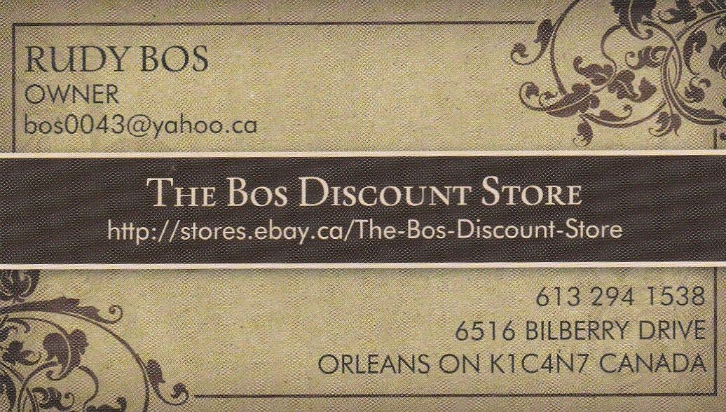 The Bos Discount Store