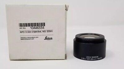 Leica Stereo Microscope Objective Achromat 0.32x S8 Apo