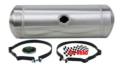 8 GALLON 10x24 CENTER FILL SPUN ALUMINUM GAS TANK - OFFROAD - DUNEBUGGY 3/8 NPT